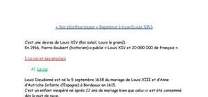 """""""Nec pluribus impar"""" : Supérieur aux autres (Louis XIV)"""