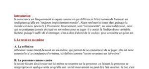 La conscience d'Alain