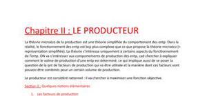 Le producteur