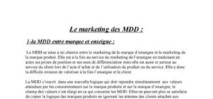 Le marketing des marques de distributeur