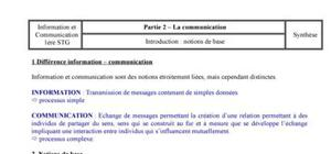 Communication: les notions de base