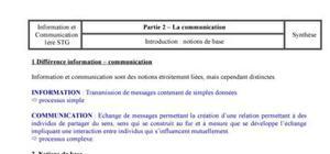Communication: les notions de base