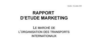 Le marché du fret et des transports internationaux