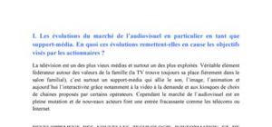 Etude de cas : TF1 - M6