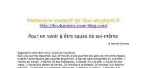 """""""Pour en venir à être cause de soi-même"""" par Jean-Claude Grosse"""