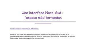 Une interface Nord-Sud : l'espace méditerranéen