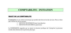 COMPTABILITE INITIATION