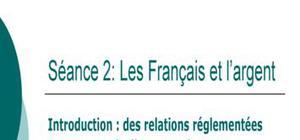 Les francais et l'argent