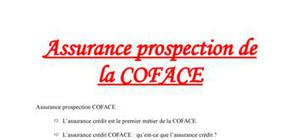 Assurance Prospection de la COFACE