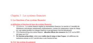 Les systemes financiers