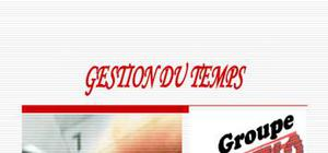 gestion du temps