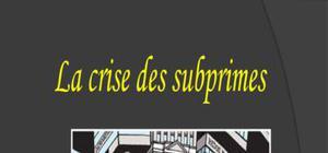 crise des subprime