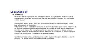 Le routage IP