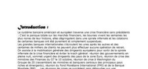 Le maroc face à la crise financiere