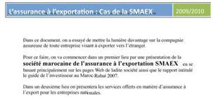 L'assurance à l'exportation