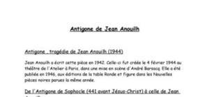 r 233 sum 233 antigone de jean anouilh es l