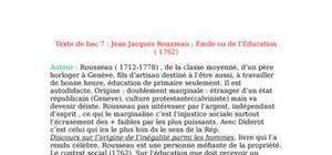 Émile ou de l'Éducation - Jean Jacques Rousseau