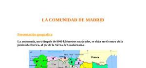 La communidad de Madrid