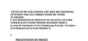 Dossier de propsection[bac pro vente]