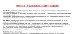 Stratification social et inégalité