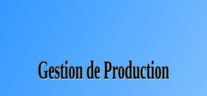 Gestion de production - Les 5S