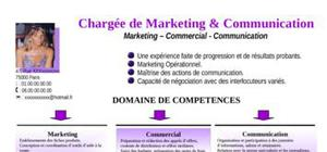 Chargée de Marketing et de communication