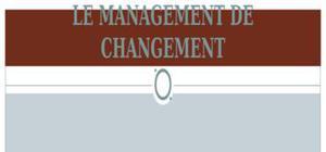 Managament du changement