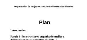 Management de projets internationaux
