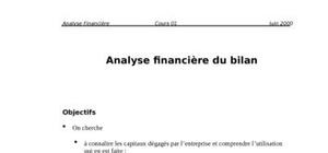 Analyse financiere (cours)
