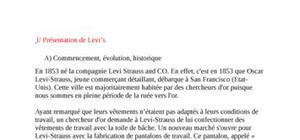 Levi's : analyse de la marque