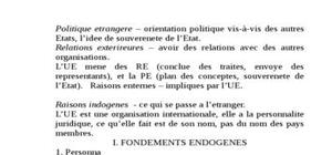 Relations exterieures de l'union europeenne