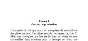 Gestion budgétaire exercice+correction
