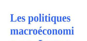 Les politiques macroeconomiques