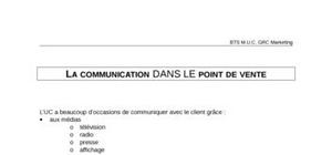 La communication dans le point de vente