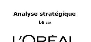Analyse strategique de l'entreprise l'oreal
