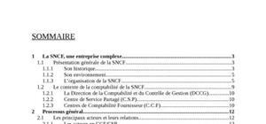 Rapport de stage : SNCF