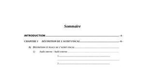 Audit fiscal