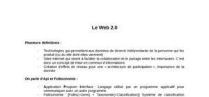 La technologie du web 2.0