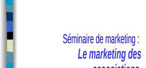 Le marketing associatif