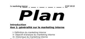 Le marketing interne