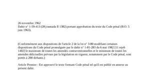 Code pénal marocain