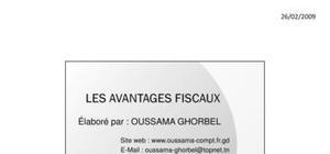 Résumé avantages fiscaux en tunisie (version 2010)- version imprimable