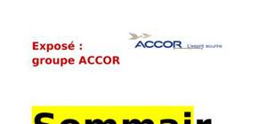 Exposé marketing touristique (groupe accor)