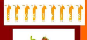 Etude de marché des smoothies