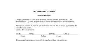 Les principes d'Omnès