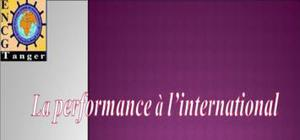 La performance à l'international