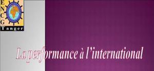 La performance à l'international