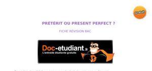 Cours anglais : l'emploi du prétérit ou du present perfect.