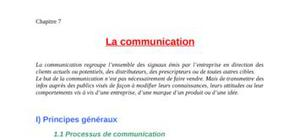 Marketing mix: la communication