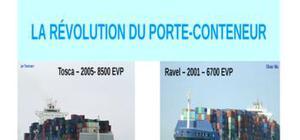 La rÉvolution du porte-conteneur